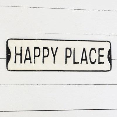 HAPPY PLACE STREET SIGN