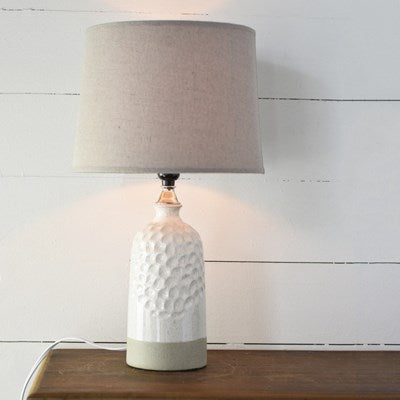 Tall Lamp in Oat