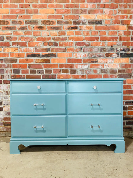 Heirloom Blue Dresser