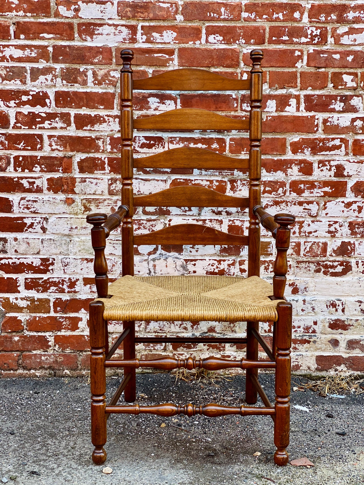 Ladder Back Dining Chairs - Set of 6