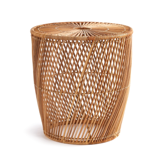 Rainey Rattan Side Table