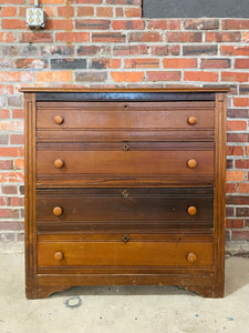 Antique 4 Drawer Chest (price includes customization)