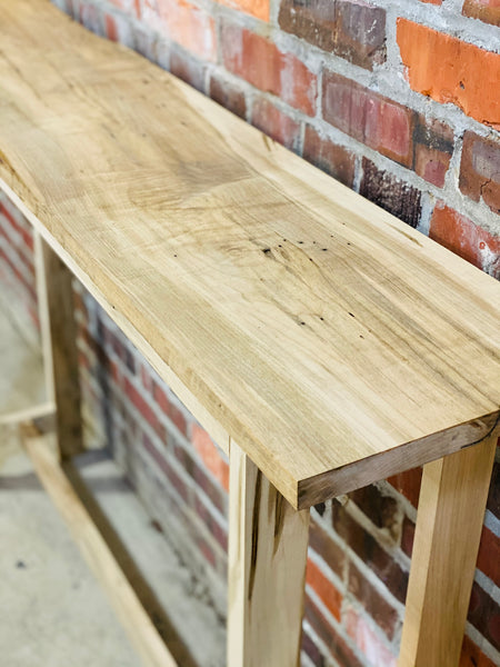 Keefer Woodworks Live Edge Accent Table