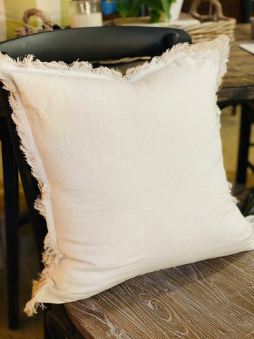 Natural Ivory Pure Linen Pillow