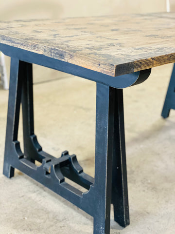 Sawhorse Fold-out Dining Table