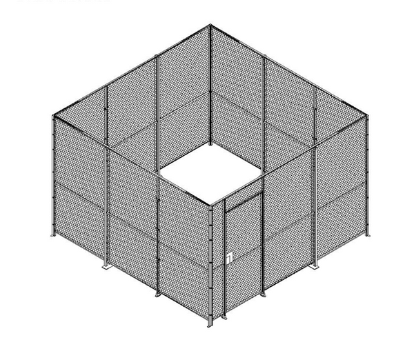 wire mesh cages construction