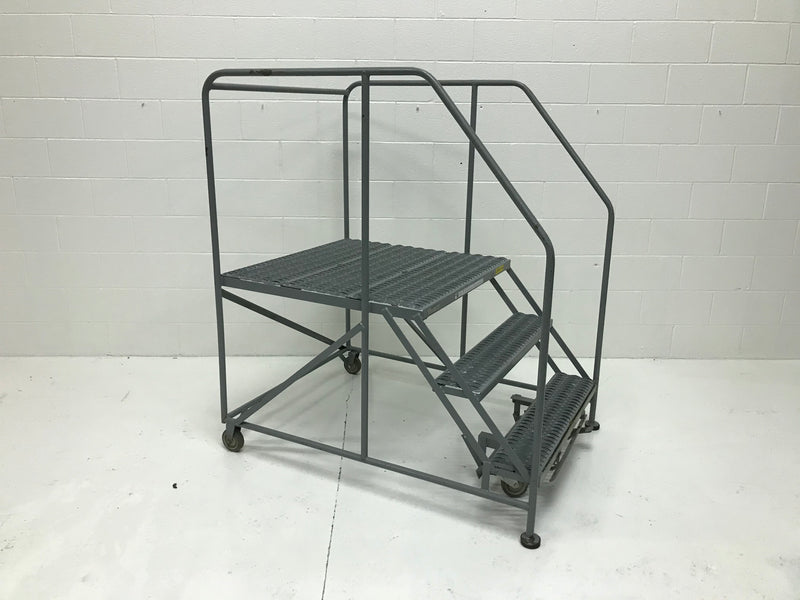 3-Step Rolling Ladder - Used