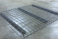 "48""D x 46""W Wire Deck, Outside Waterfall, Est. Cap = 2,500"