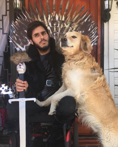 silla de ruedas game of thrones