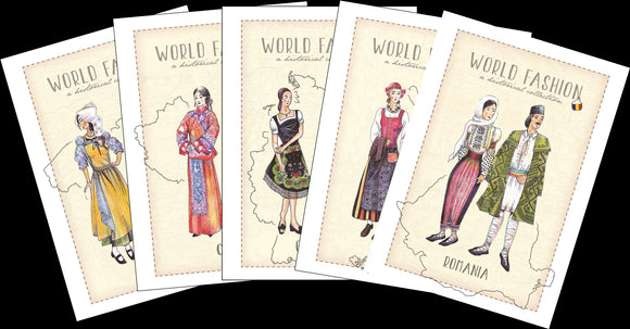 World Fashion Historical Collection - Postcards Market