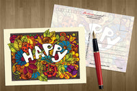 Colours: Happy - top quality approved by www.postcardsmarket.com specialists