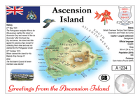 AFRICA | Ascension Island MOTW - top quality approved by www.postcardsmarket.com specialists