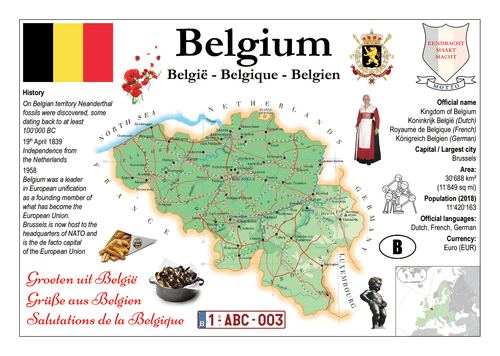 Europe | Belgium MOTW - top quality approved by www.postcardsmarket.com specialists