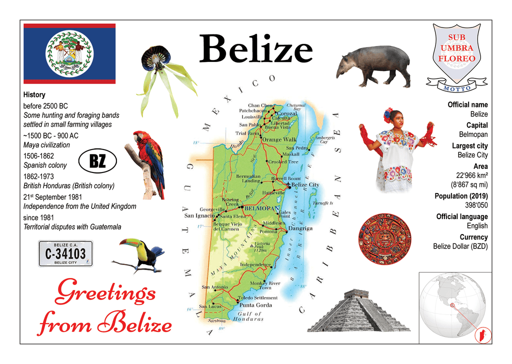Belize MOTW - Postcards Market