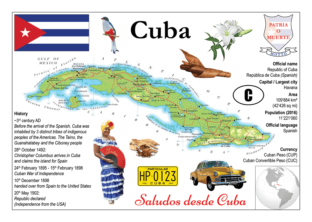 North America | Cuba MOTW - top quality approved by www.postcardsmarket.com specialists