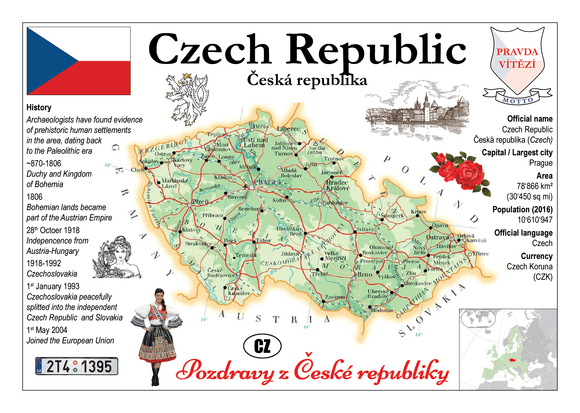 Czech Republic MOTW - Postcards Market