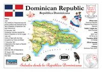 North America | Dominican Republic MOTW - top quality approved by www.postcardsmarket.com specialists