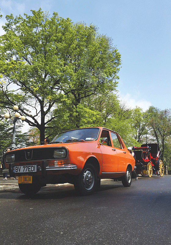 Photo Transport: Bundle of 10 10 x Dacia 1300 near Central Park, NY - Postcards Market