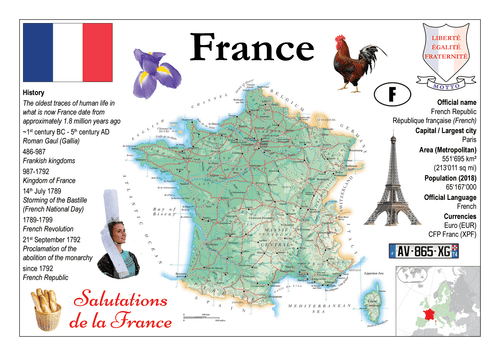 Europe | France MOTW - top quality approved by www.postcardsmarket.com specialists