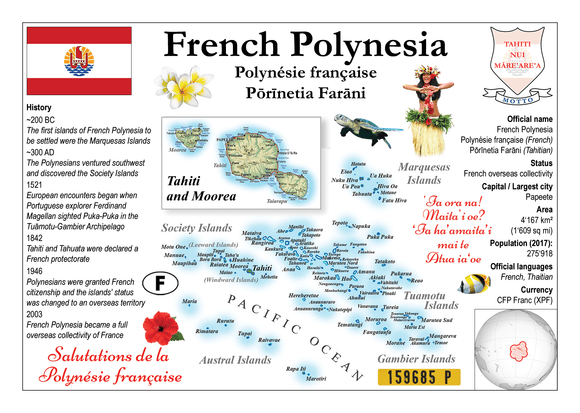 French Polynesia MOTW - Postcards Market
