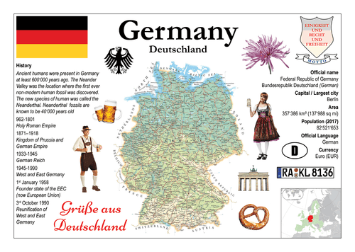 Europe | Germany MOTW - top quality approved by www.postcardsmarket.com specialists