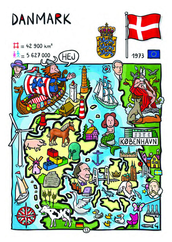 EU - United in Diversity - Danmark_08 - Postcards Market
