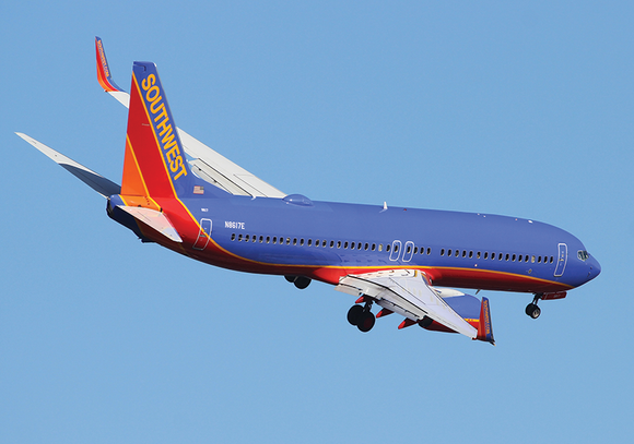 Photo Transport: Boeing 737-800 Southwest Airlines DCA - Postcards Market