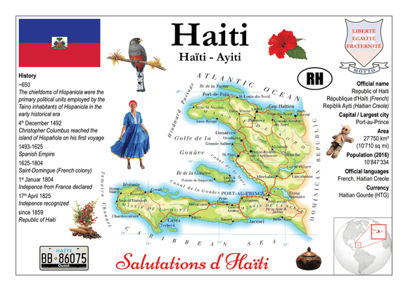 North America | Haiti MOTW - top quality approved by www.postcardsmarket.com specialists