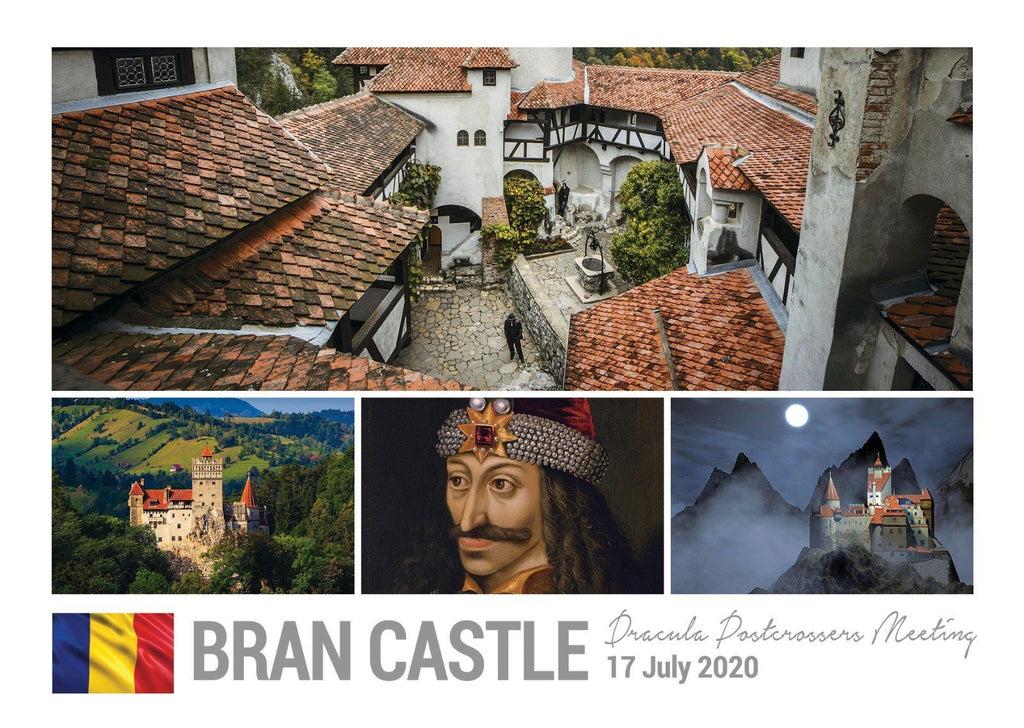 Photo Meeting: Bran Castle meetup July 17, 2020 - Romania - Meeting postcard - Postcards Market
