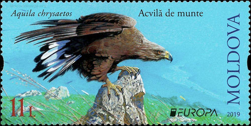 *Stamps | Moldova Actual EUROPA 2019: NATIONAL BIRDS - MOLDOVA (set of 2 stamps) - top quality approved by www.postcardsmarket.com specialists