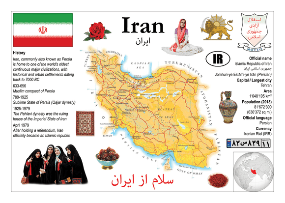 Asia | Iran MOTW - top quality approved by www.postcardsmarket.com specialists