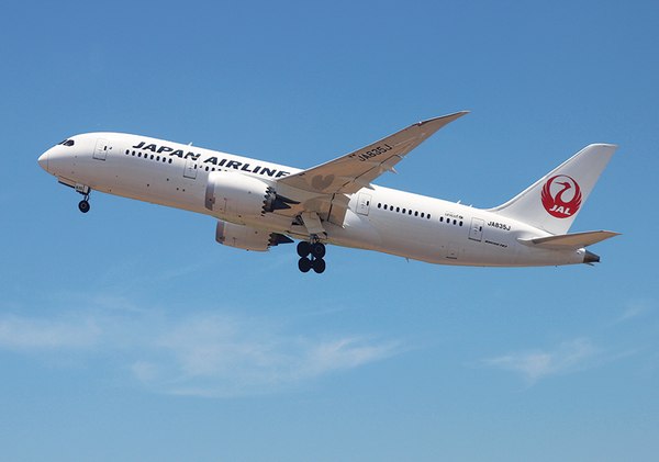 Boeing 787-800 Japan Airlines TPE