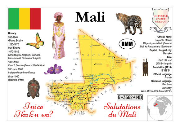 AFRICA | Mali MOTW - top quality approved by www.postcardsmarket.com specialists