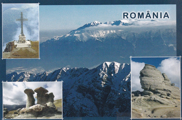 Market Corner: Bundle of 5 x LAD Romania - Bucegi Mountains - top quality approved by www.postcardsmarket.com specialists
