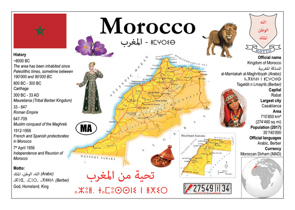 AFRICA | Morocco MOTW - top quality approved by www.postcardsmarket.com specialists