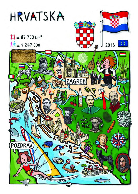 EU - United in Diversity - Hrvatska_15 - Postcards Market