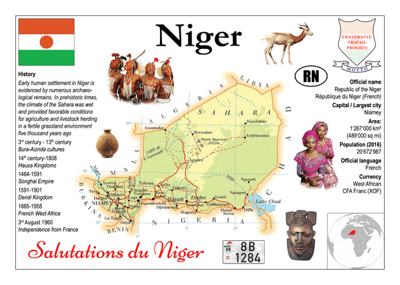 AFRICA | Niger MOTW - top quality approved by www.postcardsmarket.com specialists