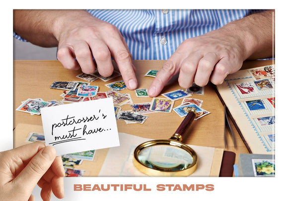Photo: Postcrosser's Must Have - Beautiful Stamps (bundle x 5 pieces) - top quality approved by www.postcardsmarket.com specialists