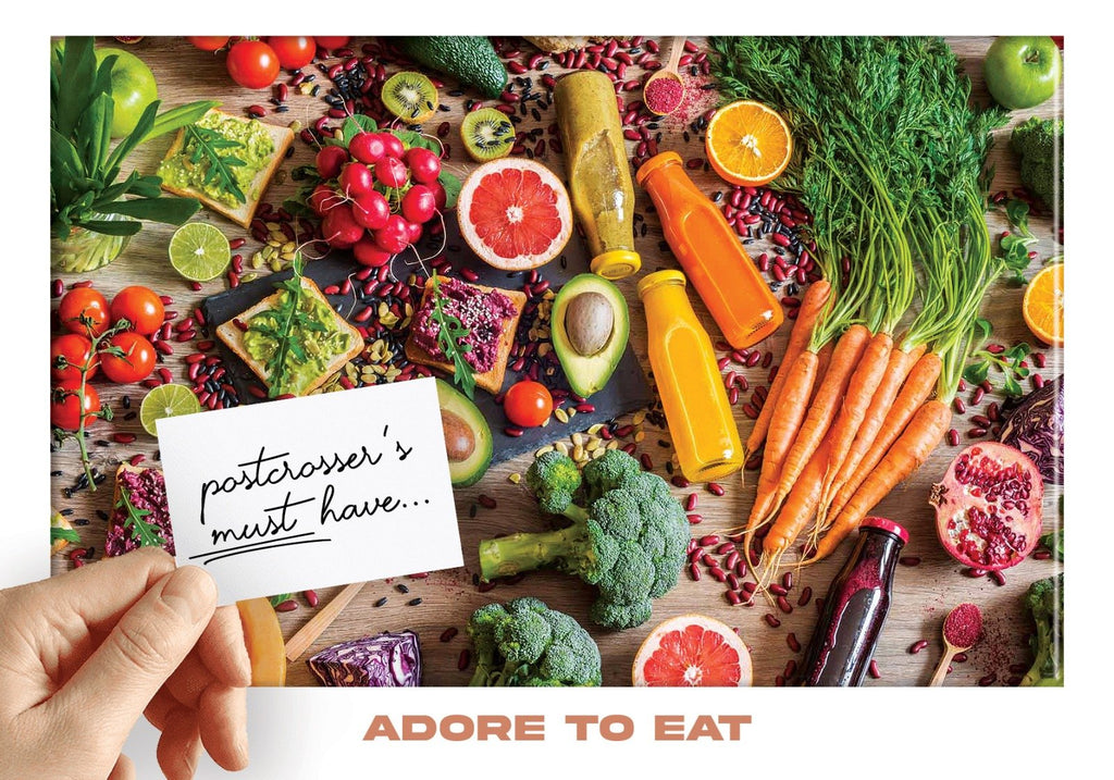 Photo: Postcrosser's Must Have - Adore to eat healthy - Postcards Market