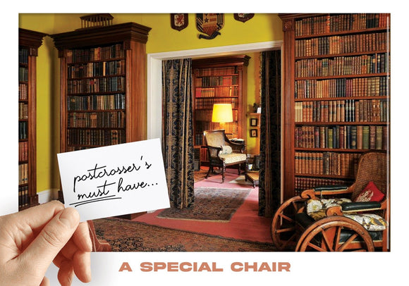 Photo: Postcrosser's Must Have - A Special Chair (personalized) - top quality approved by www.postcardsmarket.com specialists