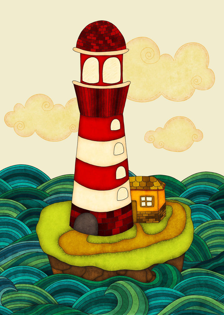 Colours: Lighthouse - Postcards Market