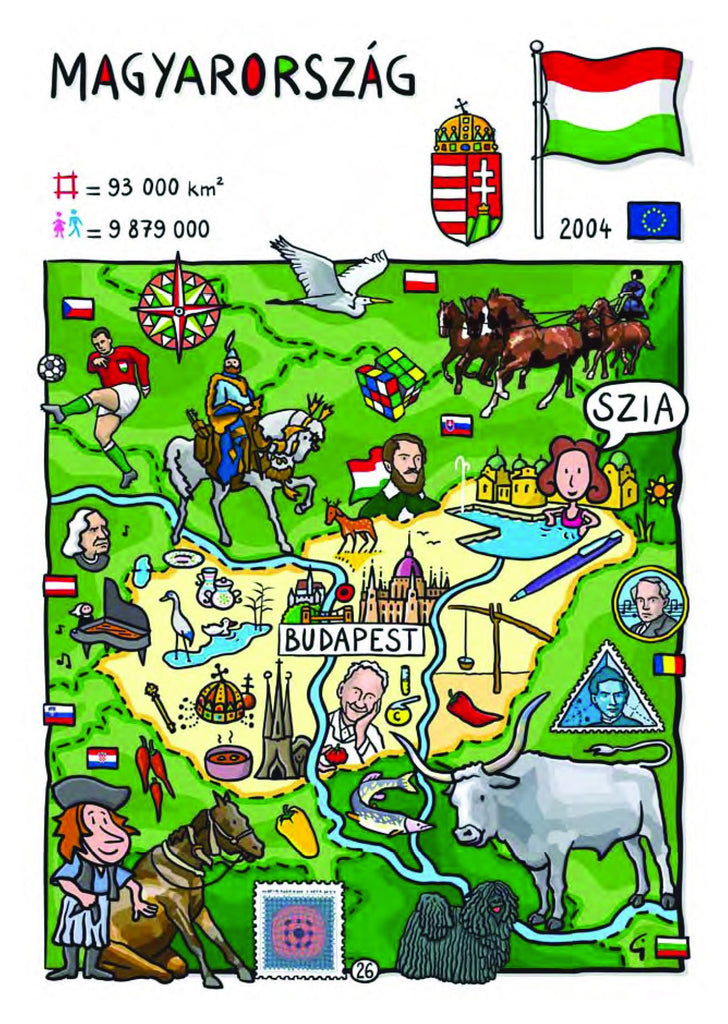 EU - United in Diversity - Magyarorsag_21 - top quality approved by www.postcardsmarket.com specialists