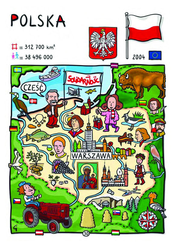 EU - United in Diversity - Polska_25 - Postcards Market