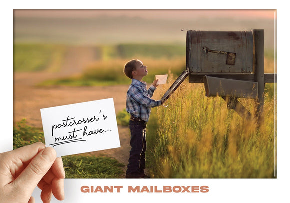 Photo: Postcrosser's Must Have - Giant Mailboxes - top quality approved by www.postcardsmarket.com specialists
