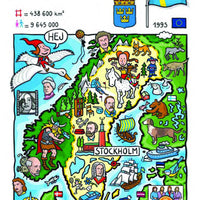 EU - United in Diversity - Sverige_31 - top quality approved by www.postcardsmarket.com specialists