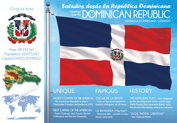 DOMINICAN REPUBLIC - FW - Postcards Market