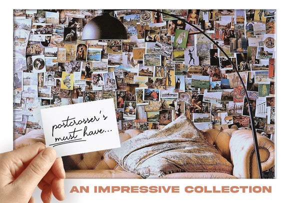 Photo: Postcrosser's Must Have - An Impressive Collection (bundle x 5 pieces) - top quality approved by www.postcardsmarket.com specialists