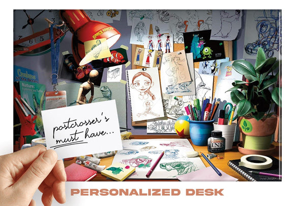 Photo: Postcrosser's Must Have - Personalized Desk (bundle x 5 pieces) - top quality approved by www.postcardsmarket.com specialists