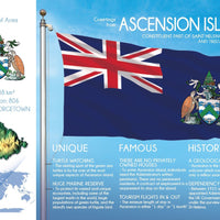 AFRICA | ASCENSION ISLAND - FW - top quality approved by www.postcardsmarket.com specialists