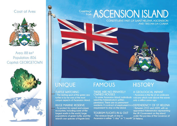 ASCENSION ISLAND - FW - Postcards Market